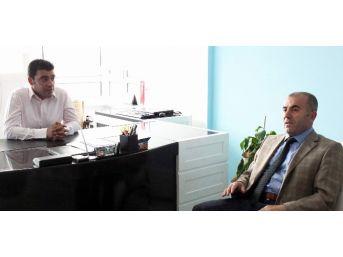 Milli Eğitim Müdürü Demir'den Kapadokya Gazeteciler Cemiyetine İade-i Ziyaret