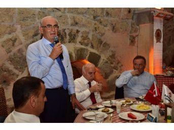 Vali Ve Başkan Bahçeşehir Koleji'nin İftarına Katıldı