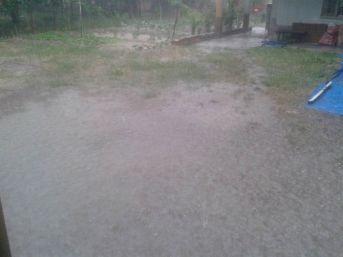 Sivas'ta Sağanak Yağış Sele Dönüştü
