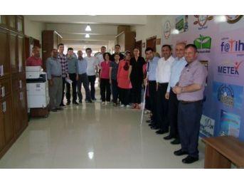 Çerkezköy İlçe Milli Eğitim Müdürlüğü'nde Bayramlaşma Programı