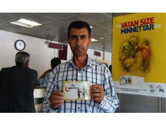 Ptt'nın Kampanyasına Erciş'ten Destek