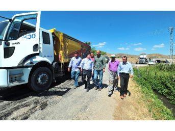 Yozgat'ta Yol Yapım Çalışmaları Hızlandı