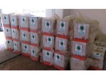 Çaycuma Belediyesi 110 Aileye Gıda Yardımı Yaptı