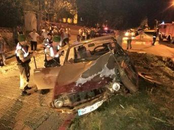 Zonguldak'ta Trafik Kazası: 1'i Ağır 2 Kişi Yaralı