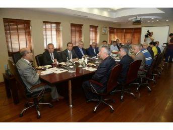 Ceyhan Osb'nin İlk Müteşebbis Heyeti Toplantısı Adana Valiliği'nde Gerçekleşti