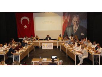Kuşadası Belediye Meclisi'nin Temmuz Ayı Olağan Toplantısı Yapıldı