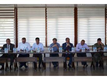 Adilcevaz'da 'il Danışma Ve Koordinasyon' Toplantısı
