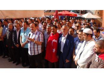 Hakkari'de Gıyabi Cenaze Namazı Kılındı