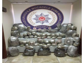 Kamyon Kasasında 118 Kilo Esrar Ele Geçirildi