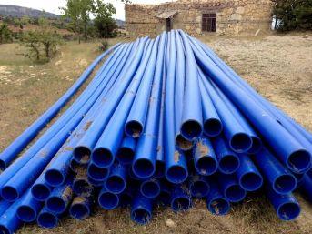 Mersin Büyükşehir Belediyesi'nden Üreticiye Sulama Borusu Desteği