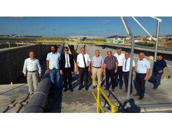 Genel Müdür Başa, Başkan Akay İle Birlikte Teski'nin Çerkezköy Yatırımlarını İnceledi