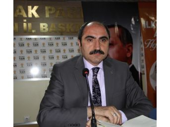 Başkan Soğanda'dan Hdp'li Belediyelere Tepki