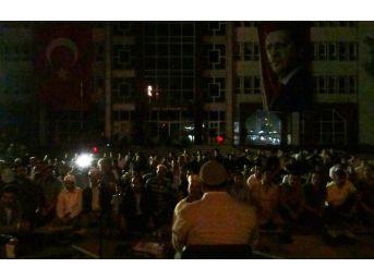 Erciş'te Temsili İdam Sehpası Kuruldu