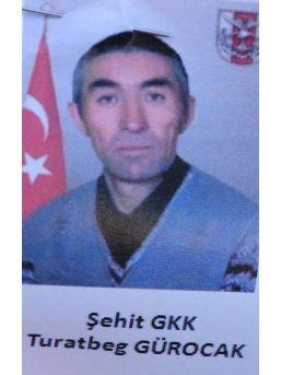 Kırgız Şehide Hazin Tören