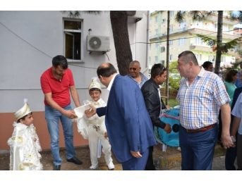Alaplı Belediye Başkanı Nuri Tekin'den Yardımlaşma Örneği