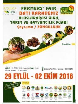 """Zonguldak'ta, """"batı Karadeniz Uluslararası Gıda Tarım Ve Hayvancılık Fuarı"""" Yapılacak"""
