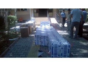 Gölbaşı İlçesinde 30 Bin Paket Kaçak Sigara Yakalandı