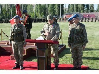 Patnos'ta Sancak Devir Teslim Töreni Yapıldı