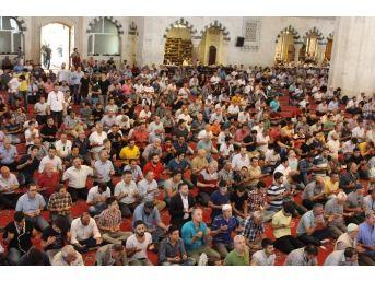Kocatepe Camii'nde Cuma Namazını Diyanet İşleri Başkanı Görmez Kıldırdı