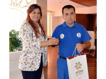 Büyükşehrin Örnek Çalışanından Başkan Çerçioğlu'na Ziyaret