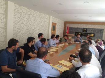 Sason'da Yapılan İdare Toplantısında Fetö Ele Alındı
