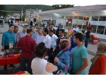 Kaymakam Erkan Ve Başkan Aksoy'dan Fuar Ziyareti