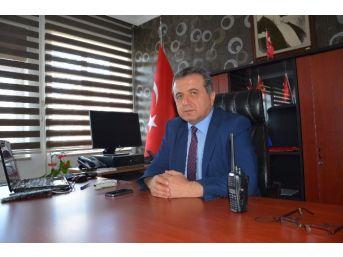 Sungurlu'da Yeni İlçe Emniyet Müdürü Görevine Başladı