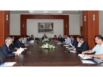 İşkur Toplantısı Vali Azizoğlu Başkanlığında Yapıldı