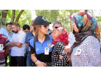 Gaziantepli Şehit Polis Memuru Gözyaşları İle Uğurlandı