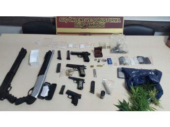 Gaziantep'te Uyuşturucu Ve Silah Üretim Operasyonu