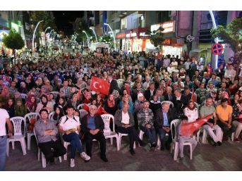 Gümüşhane'de Demokrasi Nöbeti 9.gününde