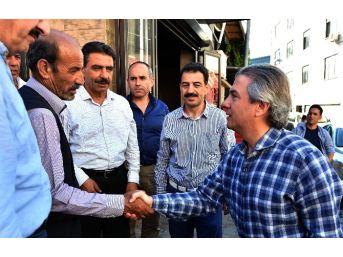 Başkan Demircan'dan Şehit Ailesine Ziyaret