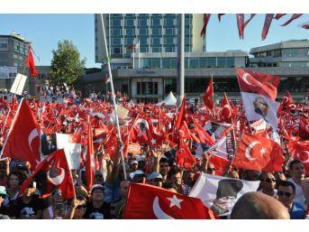 'cumhuriyet Ve Demokrasi Mitingi' Sona Erdi