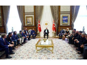 Spor Ve Sanat Camiasından Cumhurbaşkanı Erdoğan'a Ziyaret