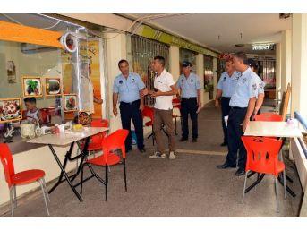 Akdeniz Belediyesi Zabıta Müdürlüğü, Metropol İş Merkezi'nde Denetimlerini Sıklaştırdı