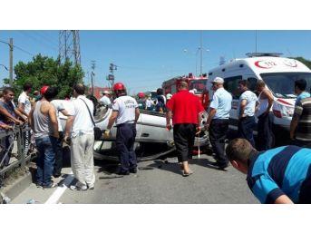 Samsun'da Trafik Kazası: 13 Yaralı