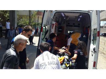 Kahta İlçesinde Trafik Kazası: 1 Yaralı