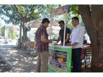 Kahta Osb Mesleki Ve Teknik Anadolu Koleji Tanıtım Standı Açtı