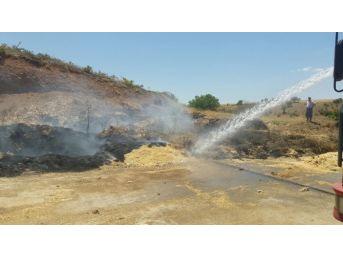Türkiye Petrolleri Kahta Sahasında Yangın
