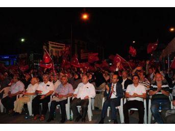 Afyonkarahisar'da Demokrasi Nöbeti 12. Gününde De Tutuldu