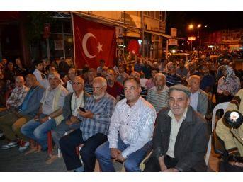 Sultandağı'nda Demokrasi Nöbeti Devam Ediyor