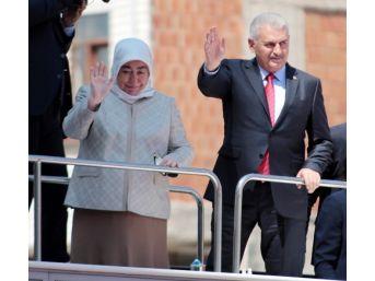 Başbakan Yıldırım, Kazan'da Halka Hitap Etti