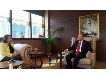 Sankon Genel Başkanı Atasoy, Bakan Kılıç'ı Ziyaret Etti