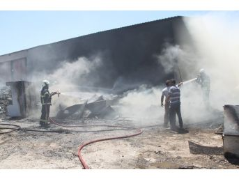 Didim'de Hurdacıda Çıkan Yangın Korkuttu