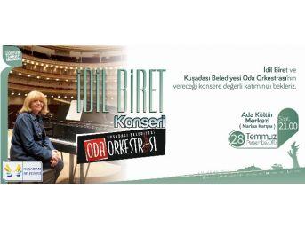 İdil Biret, 28 Temmuz'da Kuşadası'nda Konser Verecek