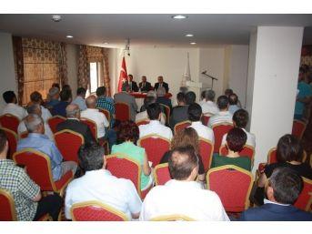 Burdur'daki 3 Parti Öncülüğünde Ortak Deklarasyon
