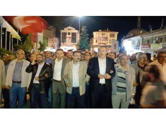 Bekiroğlu, Sungurlu'da Demokrasi Nöbetine Katıldı