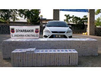 Diyarbakır'da 13 Bin 500 Paket Kaçak Sigara Ele Geçirildi