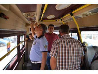 Toplu Taşıma Araçlarına Klima, Hijyen Ve Güzergah Denetimi