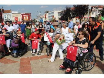Engelli Bireyler Edirne'de Buluştu